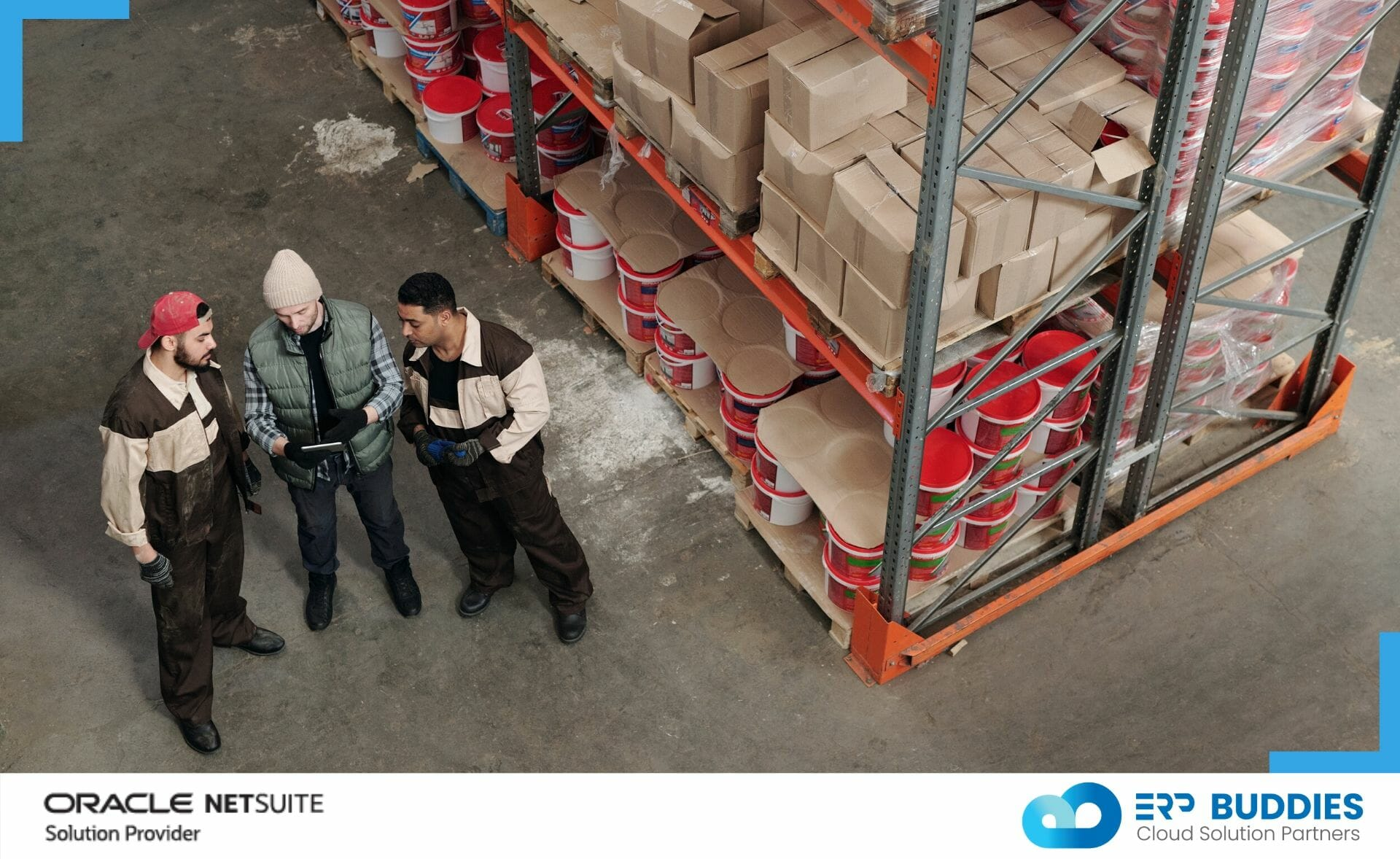 Wholesale Distribution business will benefit with NetSuite ERP