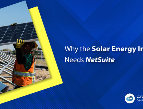 Why the Solar Energy Industry Needs NetSuite ERP
